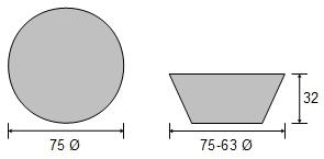 sCDZ6C-75 Plain